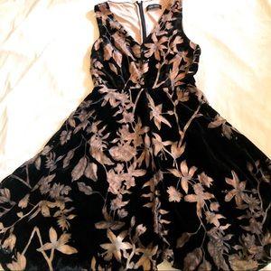 Ivanka trump soft velvet dress in size 4
